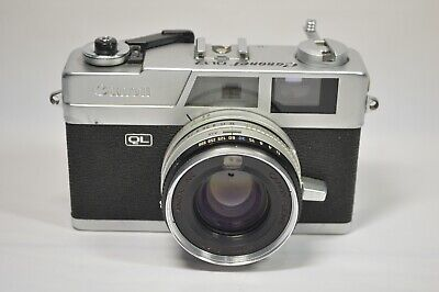 Used, Vintage Canon Canonet QL17 GIII 35mm Rangefinder Camera 40mm f/1.7 Lens  for sale  Shipping to Canada