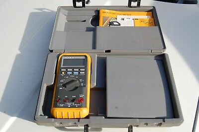 Fluke 88 Kit Deluxe Automotive Multimeter Combo Kit Nice Vom