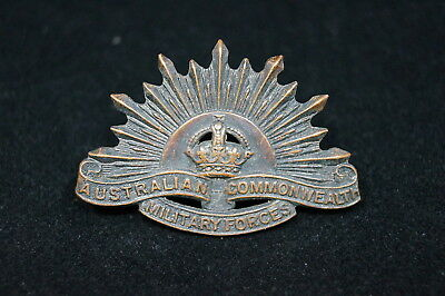 WW1 1st AIF ANZAC Australian Commonwealth Forces Collar Dog