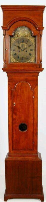Aaron Miller New Jersey Tall Case Grandfather Clock C.1750