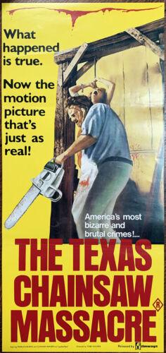 Texas Chain Saw Massacre Australian Daybill Original Poster 1974