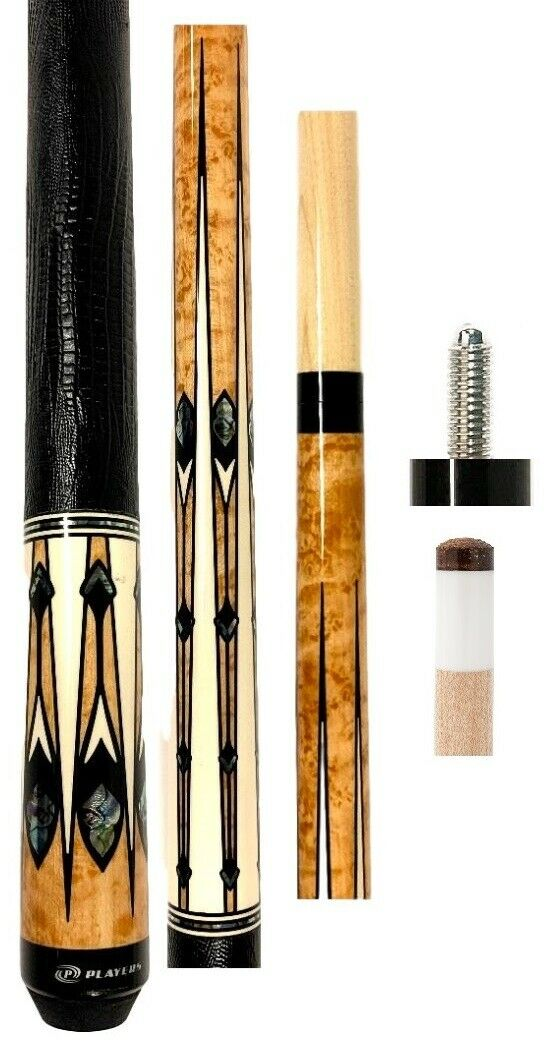 Players G-4140 Pool Cue - Antique Stained Maple - FREE Jt Ca