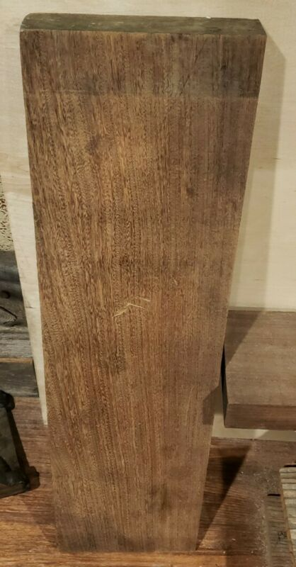 "Teak Exotic Rough Cut Lumber 28.5""L x 7.5""W x 1.75"" Thickness"