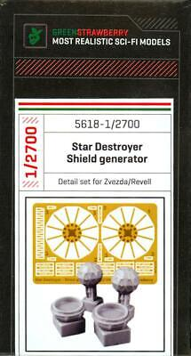 Used, Green Strawberry Models STAR WARS STAR DESTROYER SHIELD GENERATOR Resin & PE Set for sale  Shipping to India