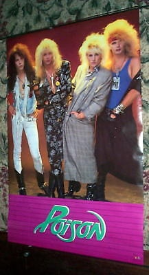 Poison Bret Michaels Vintage Group Poster
