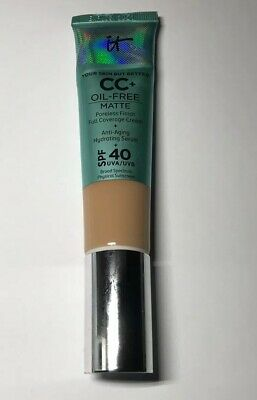 IT Cosmetics Your Skin But Better CC+ Cream Oil-Free Matte SPF 40 Neutral