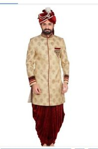 Indian pakistani groom dress on rent kurta Sherwani jodhpuri kot