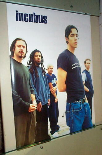 INCUBUS Vintage Group  poster ONLY ONE
