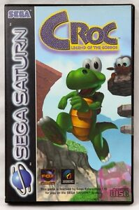 Croc: Legend of the Gobbos for the Sega Saturn [PAL] *NEW & SEALED*