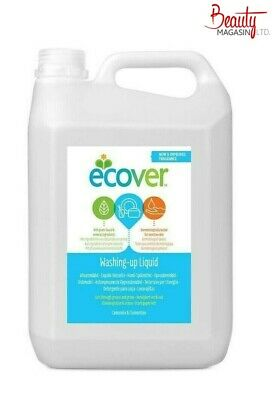 Ecover Washing Up Liquid Camomile and Clementine 5 Litre NEW Improved Fragrance