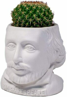 Planterflowerherbcactussucculent Pot - Ceramic - Novelty - Shakespeare