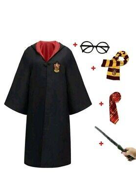 Costume Harry Potter baby vestito per bambini completo giacca bacchetta occhiali