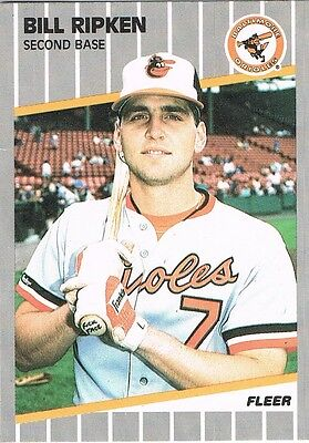 1989 Fleer BILLY RIPKEN F*ck Face #616 Error RC Rookie on Rummage (1/2)