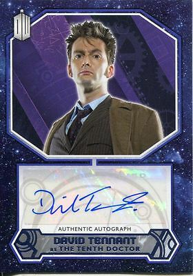 Doctor Who 2015 [Purple][##/25] Autograph Card David Tennant - 10th Doctor