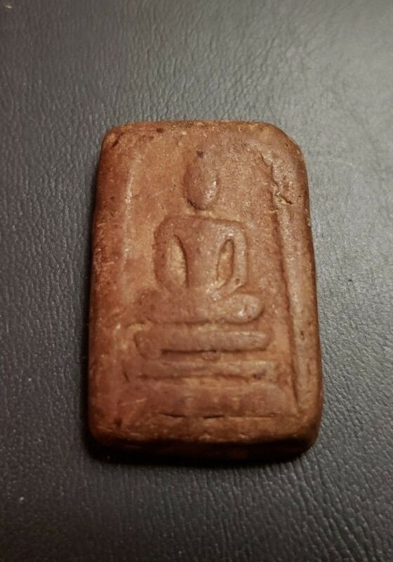 Old Thailand Buddhist Temple Amulet