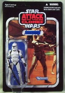 Clone Trooper VC45 Vintage Collection unpunched Star Wars new in package