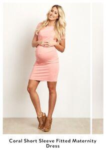Pink Blush fitted maternity dress - robe maternité PinkBlush