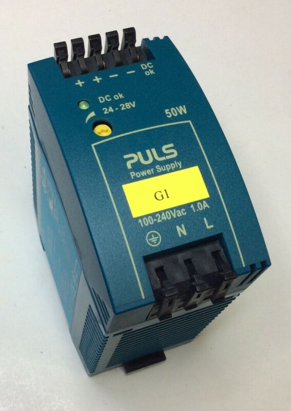 PULS ML50.100 24-28VDC 50W 2.1A Power Supply 100-240VAC Input