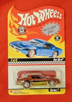HOT BIRD (1:64)  Hot Wheels 2008 RLC Neo-Classics Series #7 (2 of 6) 00512/10000