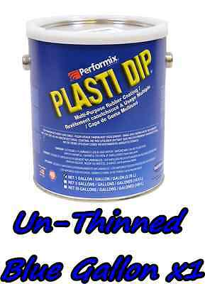 1 Gallon Blue Unthinned Performix Plasti Dip Concentrate Full Strength