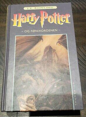 [New] Harry Potter and the Order of the Phoenix Danish (Origin Of The Phoenix)