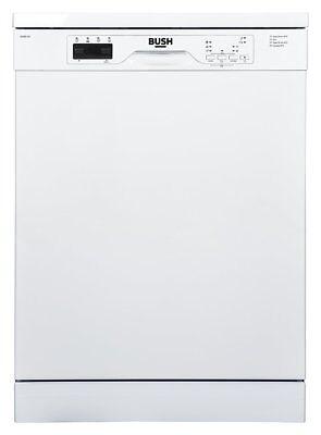 Bush BFSNB12W Free Standing 60cm A++ Full Size Dishwasher - White.