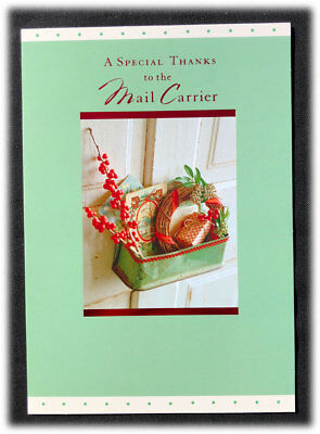 Hallmark Special Thanks To Mail Carrier Help Our Family Merry Christmas Card