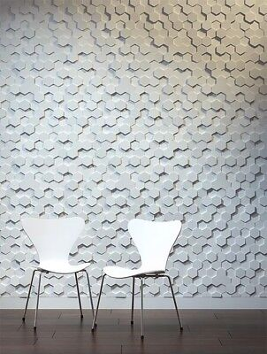 Honeycomb 3d Decorative Wall Panels 1 Pcs Abs Plastic Mold For Plaster