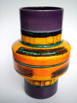 Keramik Vase 21cm Dümler+Breiden West-Germany pottery space age fat lava era 70s