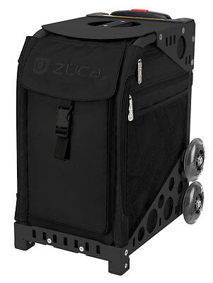 Zuca Stealth bag with BLACK frame - NEW - figure skating trolley bag