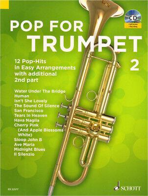 Pop for Trumpet Band 2 für 1-2 Trompete(n) Noten mit CD