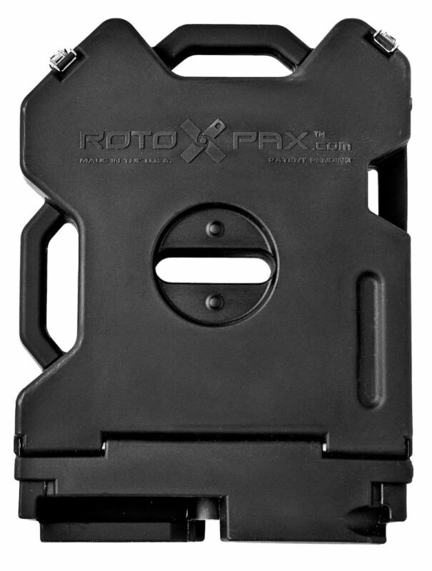 RotopaX Empty Storage Pack,Off Road, Black Storage Container, fits Jeep, Polaris