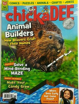 Chick a Dee November 2015 Animal Builders Beavers Craft Homes  FREE SHIPPING sb