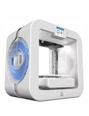 New 3D Systems Cube 3D Wireless Printer  3Rd Generation Black White  Win   Mac