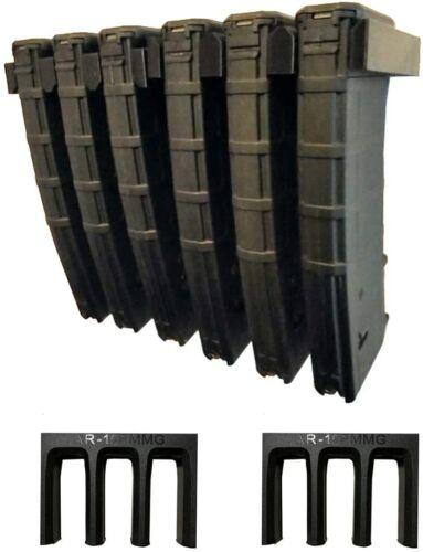 ABS 6X Standard PMAG Wall Mount, Mag Holder, Home Magazine Storage Rack