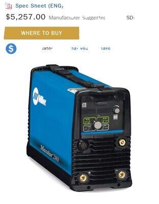 Miller Maxstar 280 208-575 V - Welder Generator 907552