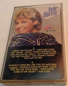 ANNE-MURRAY-Tape-Cassette-HEART-OVER-MIND-1984-Capitol-Records-Canada