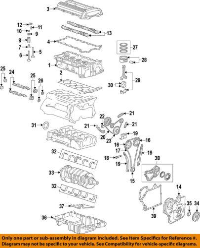 GM OEM Engine Crankshaft Crank Seal 12584041