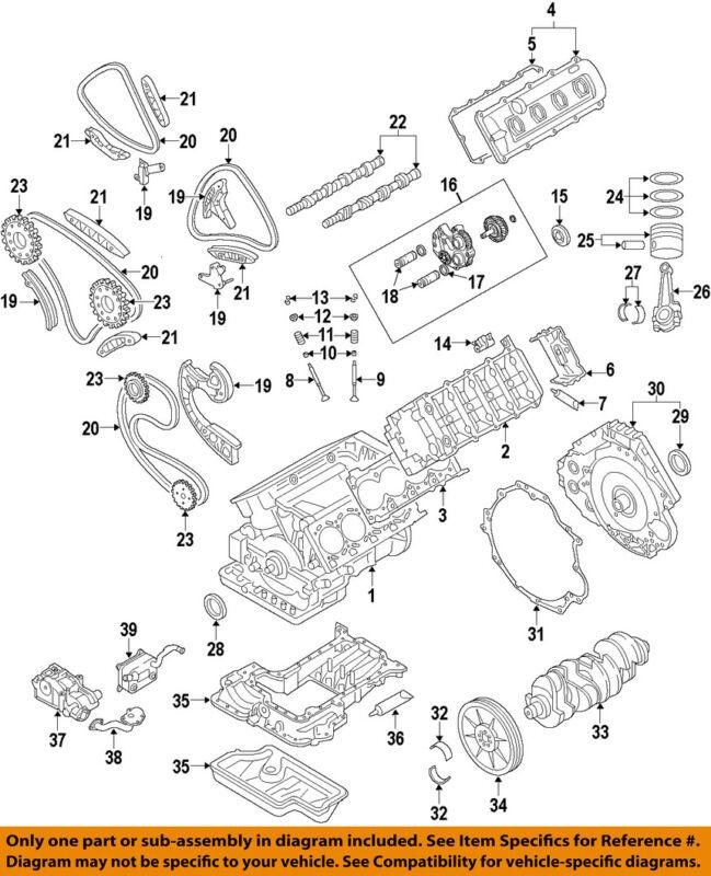 Audi Oem 09-12 S5-engine Cylinder Head 079103902lx