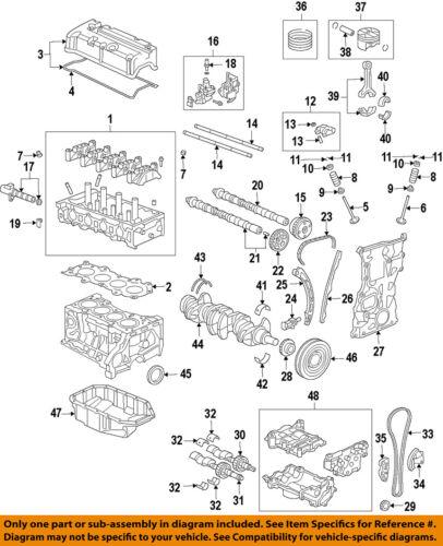 HONDA OEM-Engine Cylinder Head Gasket 12251R40A01   eBayeBay