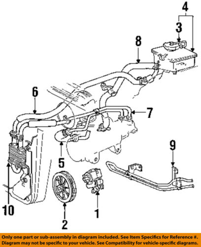 1990 lincoln town car engine diagram lincoln ford oem 1990 town car power steering pressure hose  town car power steering pressure hose