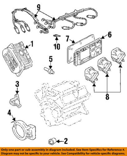 GM OEM-Engine Camshaft Cam Position Sensor 10456148