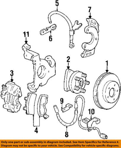 Gm Oem Front Brake Disc Rotor 18060233
