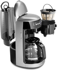 New KitchenAid Architect KCM222s Silver 14 Cup Glass Carafe Digital Coffee Maker