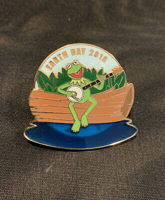 Kermit the Frog Earth Day Pin