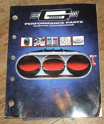 Mr Gasket Performance Parts Catalog 1998 edition USA Rare