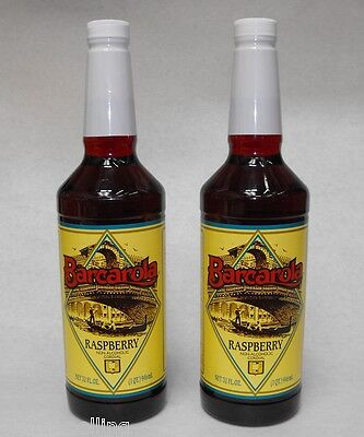 2 Pack Gourmet Raspberry Syrup 32oz. Coffee Drink Italian Soda Flavor