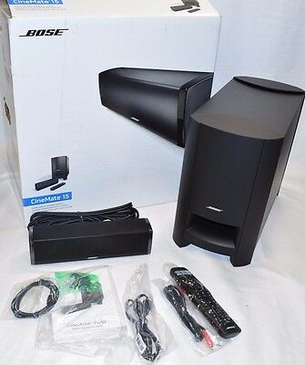 Bose CineMate15 Home Theater Speaker System - Black complete