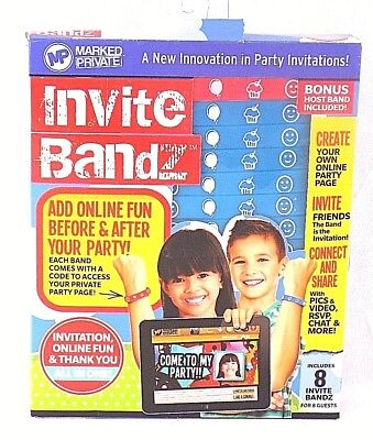 Party Invites Online (Invite Bandz Innovative Party Invitations! Create Online Party Page Share)