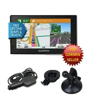 TRAVELBAG! Garmin 50LMTHD DriveSmart GPS Free Life Time Map,Traffic Alerts